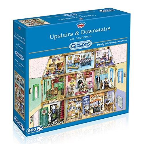 ギブソンズ ジグソーパズル 500ピース B00PFL634Q Upstairs & Downstairs 500ピース ジグソーパズル B00PFL634Q, 長崎県:44d7fb6d --- sharoshka.org