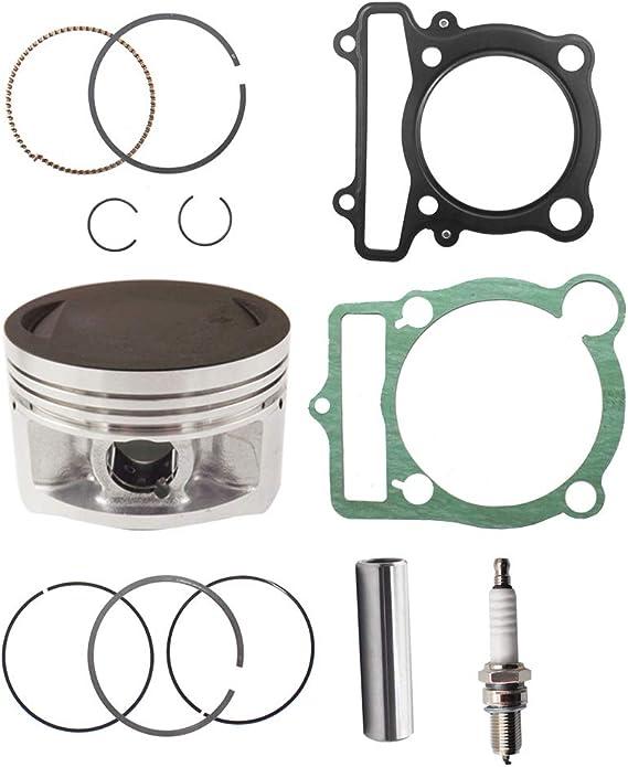 labwork 64mm Piston Gasket Ring Top End Kit fit for 1987-2006 Yamaha Banshee 350