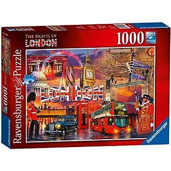 Amazon.com: Clementoni London Landmarks Puzzle (500-Piece ...