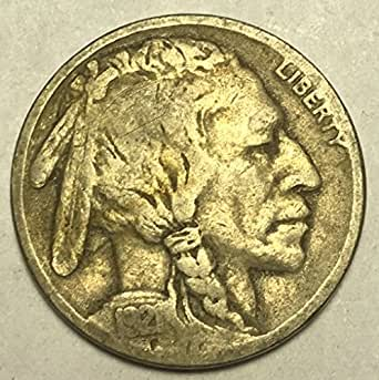 1921 P Buffalo Nickel G Good Condition