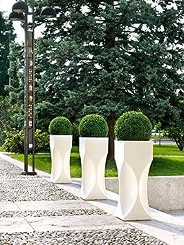Kreher Xxl Design Bac A Fleurs Venice En Plastique Dimensions En