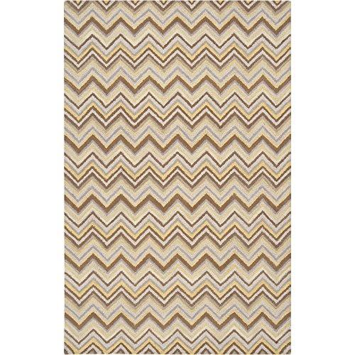 (Surya CNT1066-58 Centennial Hand Tufted Transitional Rug, 5' x 8', Bronze)