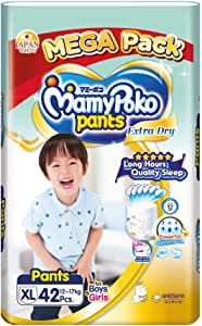 MamyPoko Extra Dry Pants, XL, 42 Counts