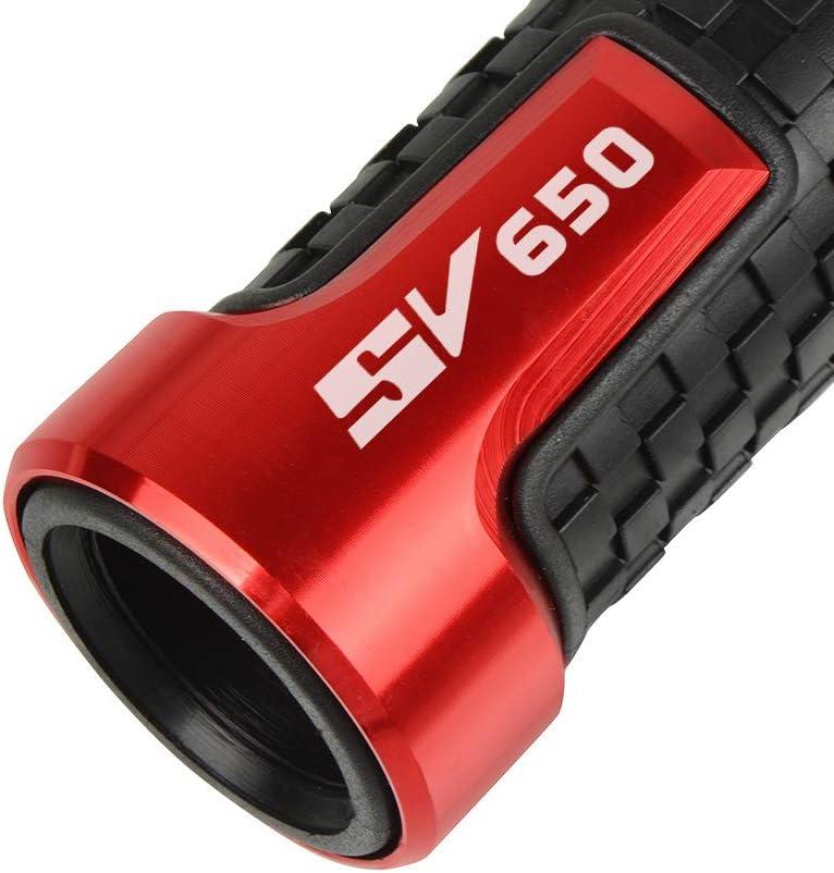 Motorrad Lenkergriffe 22mm 7//8Griff Griffgummis F/ür Suzuki SV650 SV 650 SV650S SV650X SV650A(Schwarz)