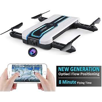 【Nueva versión 2018】Aorula nueva generación de flujo óptico posicionamiento plegable Selfy cámara Drone