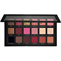 Huda bb combo textured eyeshadow palette rose gold edition (18 Shades)