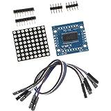 Baoblaze MAX7219 8x8ドットマトリックス LEDディスプレイモジュール Arduino用 MCU制御 DIYキット