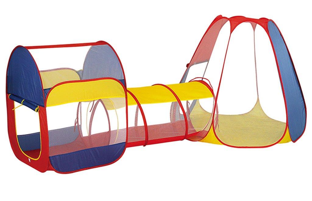 ZPHWH-E HWH Tragbare Zelt, Kind Crawl Bohren Löcher Tunnel Eimer Frühkindlichen Bildung Krabbeln Eimer Kindergarten Indoor und Outdoor-Bewegung Spielzeug Spiel Haus
