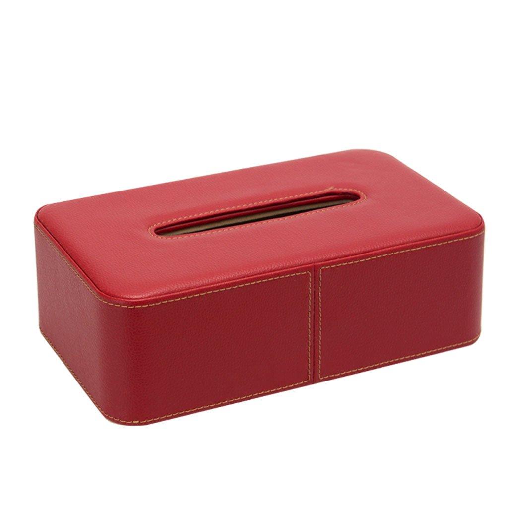TY-Taschentuchbox Kreative Tissue Box Rechteckige PU Leder Tissue Box Leder Tissue Box B07CZX1RRC Toilettenpapieraufbewahrung