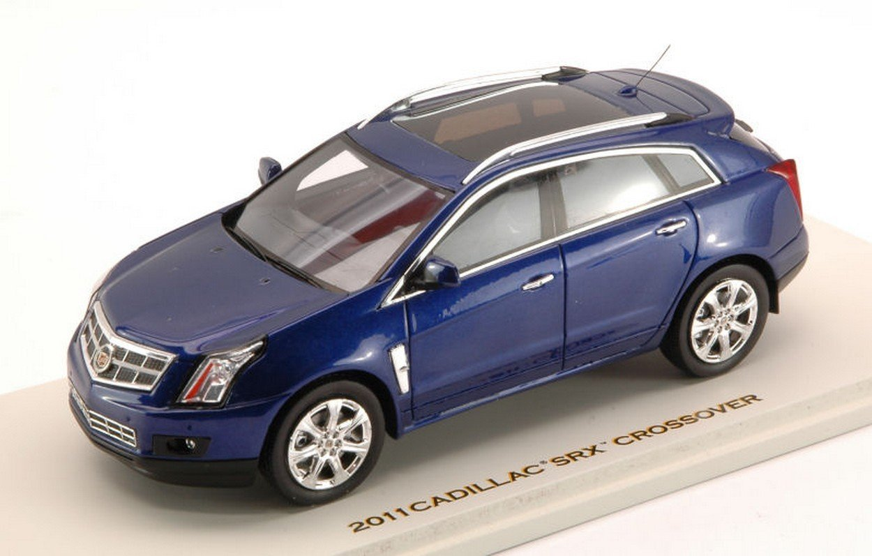 Unbekannt Luxury LX10095 Cadillac SRX Crossover 2011 Imperial Blau 1:43 MODELLINO DIE CAST