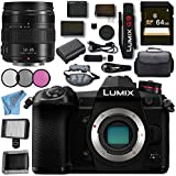 Panasonic Lumix DC- G9 DC-G9KBODY Mirrorless Micro Four Thirds Digital Camera Lumix G X Vario 12-35mm f/2.8 II ASPH. Power O.I.S. Lens Bundle