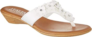 aa8072495 ITALIAN Shoemakers Womens Lia Thong Dress Sandals