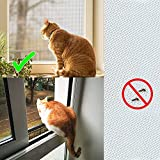 Window Screen with White Upgraded Hook and Loop