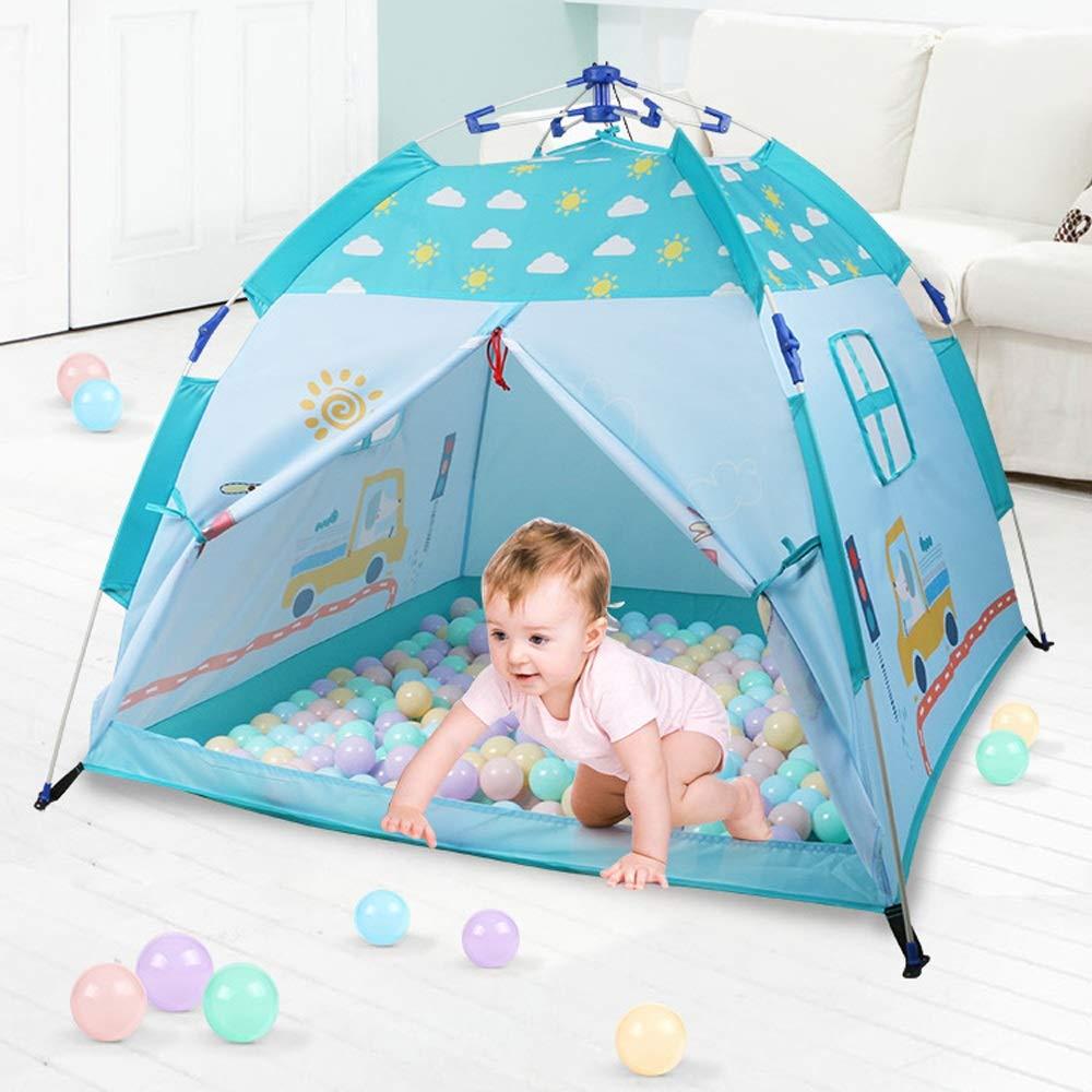 KLDYJA Freie Hände gefaltet Kinderspielzeug Zelt einfache Lagerung Spiel Pool Baby Kind Farbe Zelt Indoor und Outdoor Bequeme Verwendung von sicheren Kinder Wigwam (3,93 Meter lang x 3,93 Meter breit