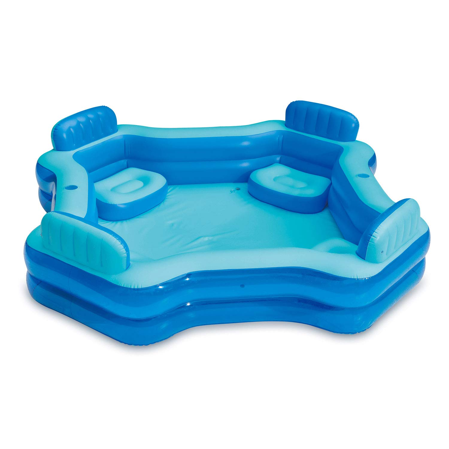 Summer Waves 8.75ft x 26in Inflatable Home 4 Person Deluxe Comfort Swimming Pool by Summer Waves