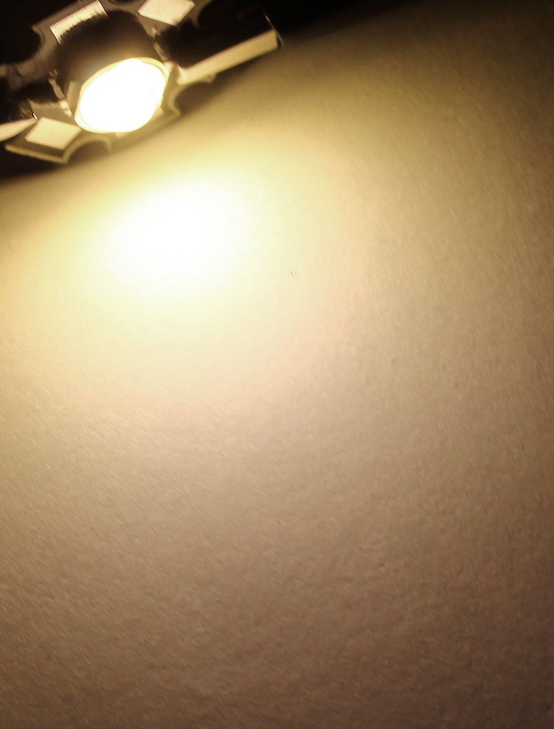 5W 2800-3200K luz Blanca cálida Lámpara LED emisor de Bolas 290-300LM: Amazon.com: Industrial & Scientific