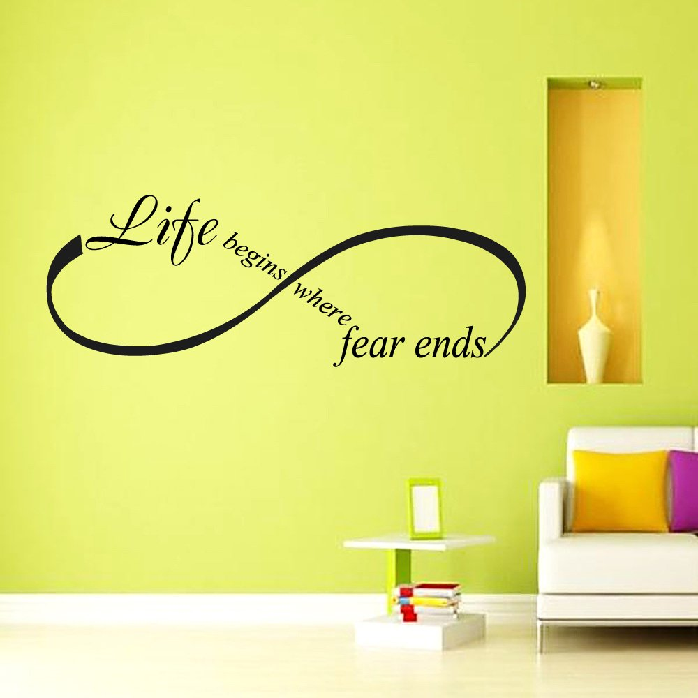Wall Decal Vinyl Sticker Decals Art Murals Yoga Decal Quote Osho ...