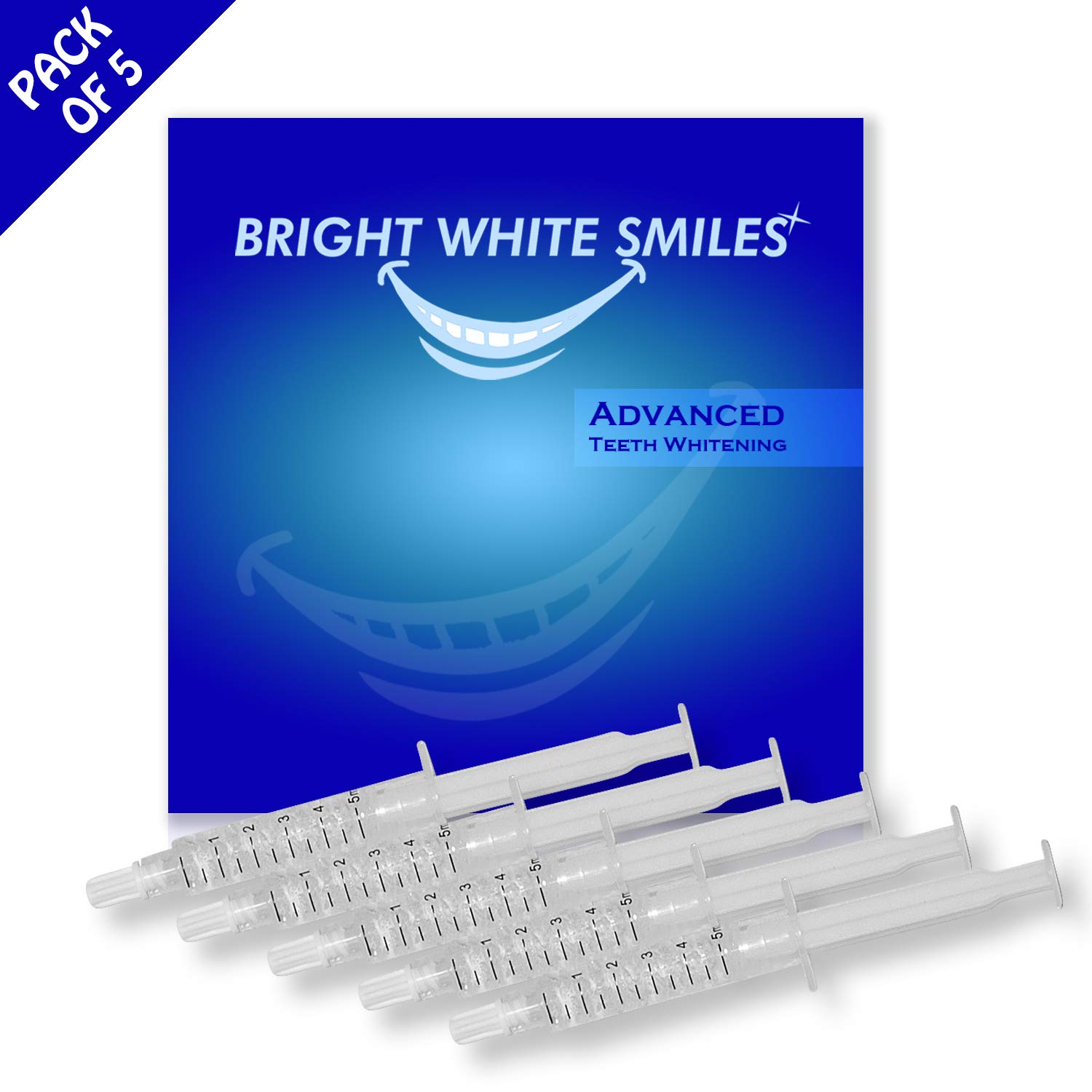 Bright White Smiles Teeth Whitening Kit, 35% Carbamide Peroxide Gel for Professional Results at Home