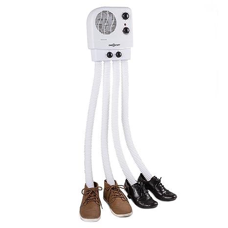 Oneconcept Choobidoo Secador de Zapatos • Calefactor de Zapatos • Calentador de Calzado • Precalentador y