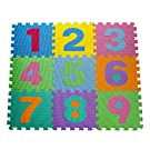 HemingWeigh Kid's Multicolored Numbers Puzzle Play Mat