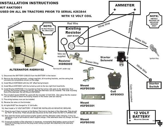 Long Tractor Alternator Wiring Diagram | Wiring Diagram on