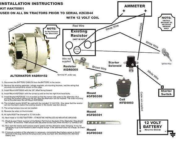 2wire Alternator Wiring Diagram Ih Tractor | Wiring Diagram on