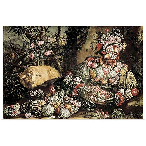 - GREATBIGCANVAS Poster Print Entitled The Spring by Giuseppe Arcimboldo 18