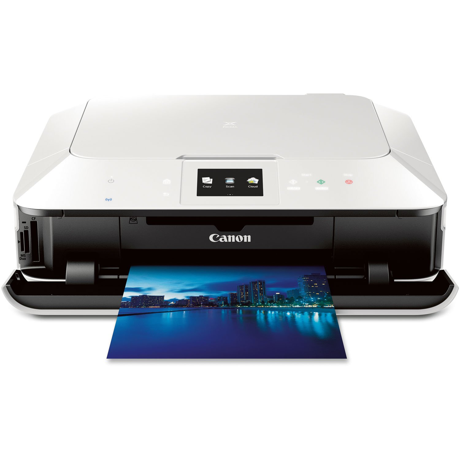 Amazon.com: Canon PIXMA MG7120 Wireless Color Photo All-In-One Printer,  Mobile Smart Phone and Tablet Printing, White: Electronics