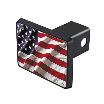 AirStrike americano bandera cubierta de enganche de remolque cubierta de enganche de remolque, EE.