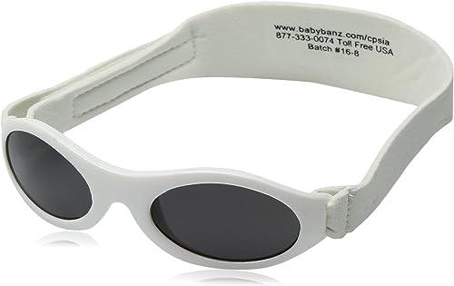 Midnight Black Adventure BanZ Baby Sunglasses 0-2 Years