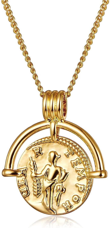 Silver Reversible Graduation Medallion Charm Pendant