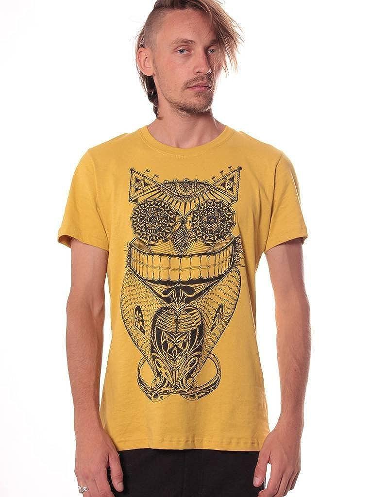 Men's Steampunk Owl T Shirt