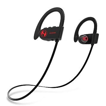 Húsar magicbuds 2 próxima generación Bluetooth auriculares, auriculares inalámbricos deportivos con micrófono, resistente al agua, ...