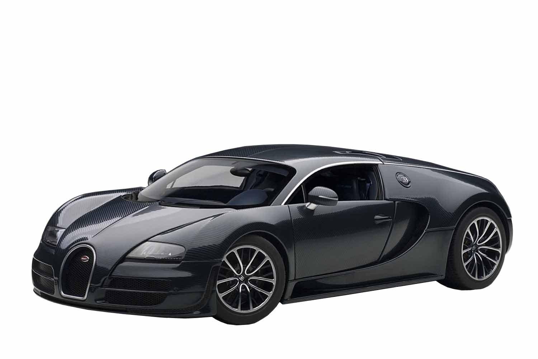 Amazon.com: AUTOart 1/18 Bugatti Veyron Super Sports (Dark Blue): Toys U0026  Games