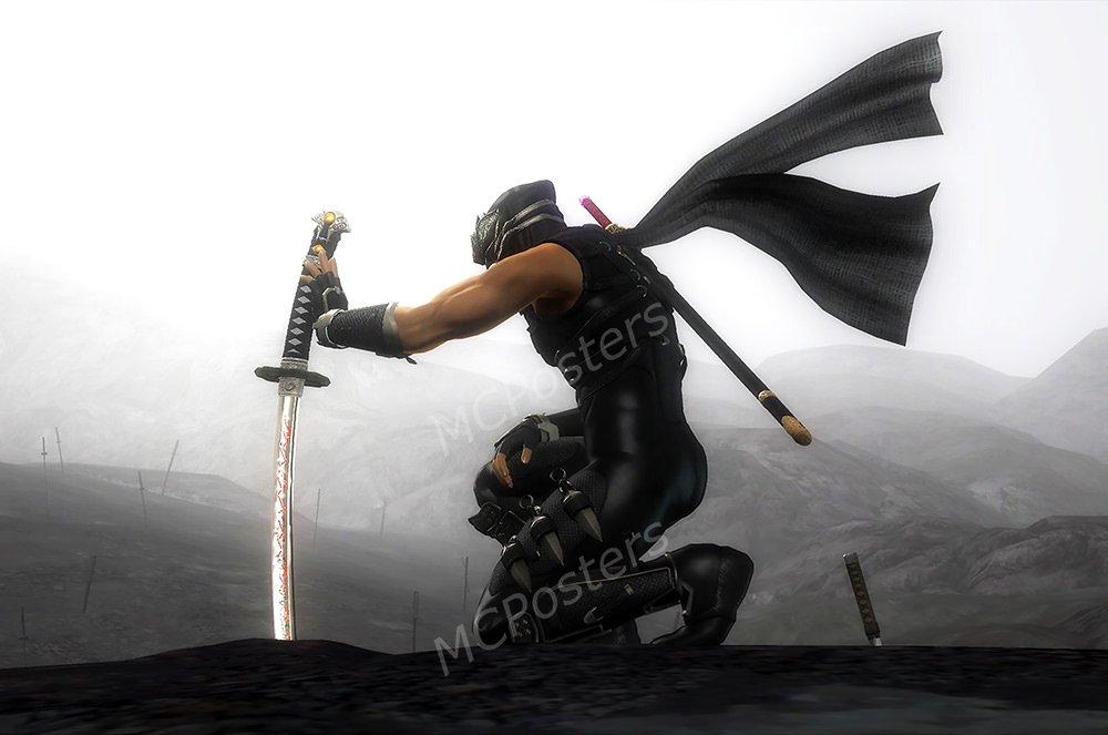 Amazon.com: MCPosters - Ninja Gaiden Sigma II PS3 XBOX 360 ...