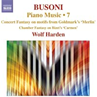 Busoni Piano Music Volume 7