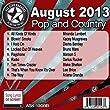 All Star Karaoke August 2013 Pop and Country Hits B (ASK-1308B)by Miranda Lambert