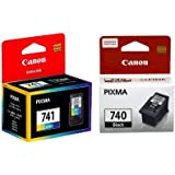 Canon COMPUTER CONSUMABLES COMPANY Combo of PG-740 and CL-741 Ink Cartridge