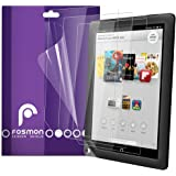 "Fosmon Crystal Clear Screen Protector Shield for Barnes & Noble NOOK HD+ 9"" Tablet - 3 Pack"