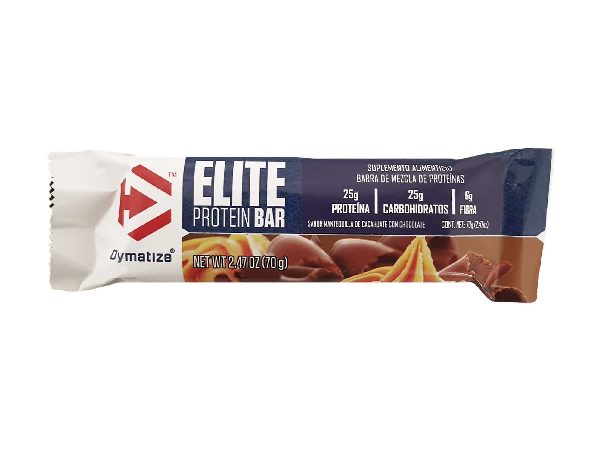 Dymatize Elite Protein Bar, Peanut Butter Chocolate, 2.47 Ounce (Pack of 12)