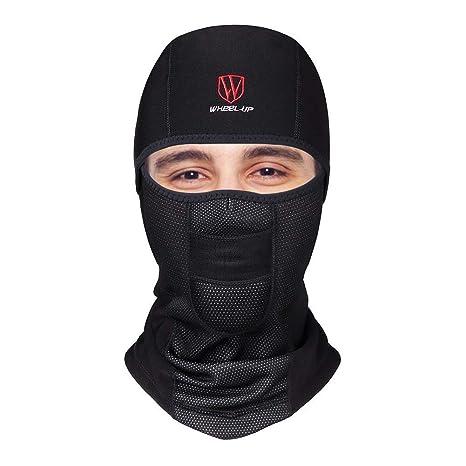 taglia 40 design senza tempo prevalente DIMJ sci con passamontagna, Maschera da scaldacollo da ciclismo con  maschera anti-vento antivento
