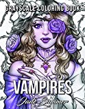 #5: Vampires: A Grayscale Coloring Book with Sexy Vampire Women, Dark Fantasy Romance, and Haunting Gothic Scenes for Relaxation