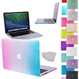 LOVE MY CASE / NEW RAINBOW Rubberized See-Through Hard Case Cover for Apple Macbook Pro 13-inch with RETINA DISPLAY (Models: A1502 / A1425) (will NOT fit standard MacBook Pro with CD/DVD Rom)