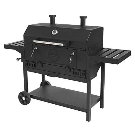 """Pro Series para uso pesado 36 """"carbón Wagon barbacoa"""