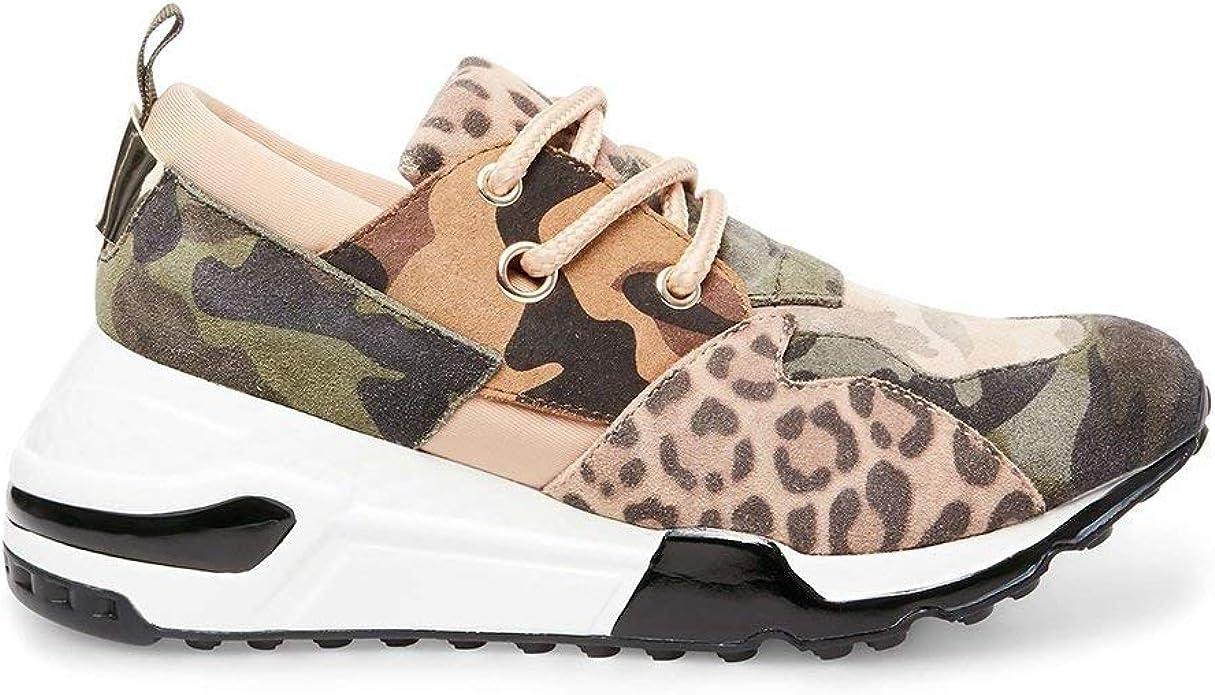 Abbastanza acquazzone Insoddisfacente  Amazon.com | Steve Madden Women's Cliff Sneaker | Fashion Sneakers