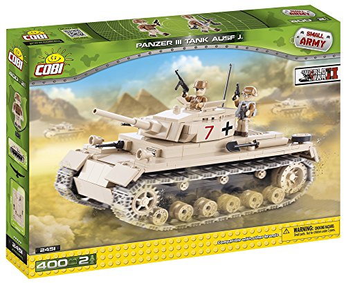 [COBI Small Army German Panzer III Ausf.] (German Army Tank)