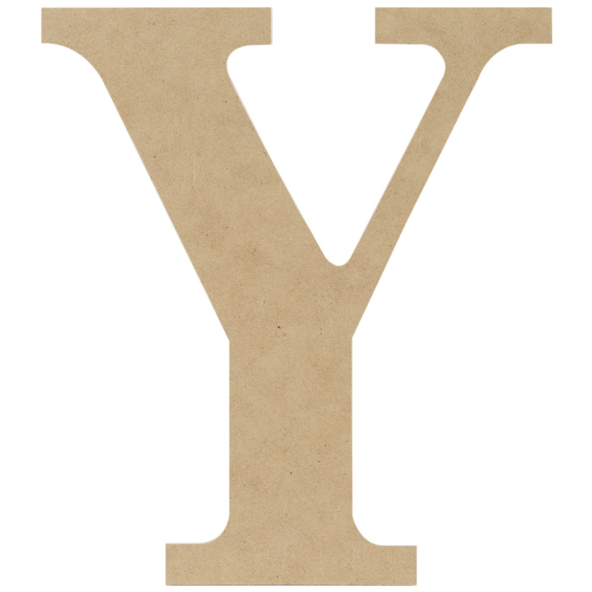 MPI MDF Classic Font Wood Letters and Numbers, 9.5-Inch, Letter Y MDF9-L425