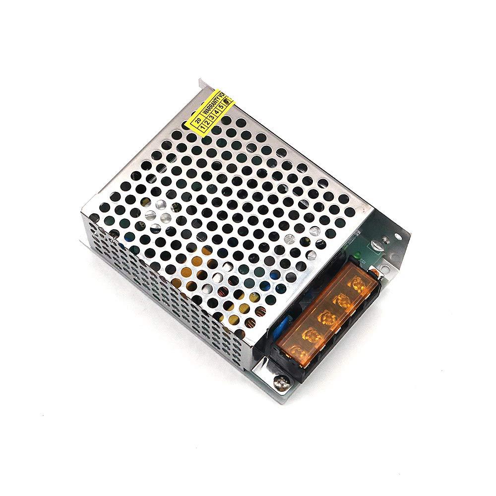 DollaTek 110V 230V AC a DC 24V 60W 2.5A Fuente de alimentación de modo de interruptor cerrado de voltaje universal para cámara DCTV/Sistema de seguridad/Tira de luz LED/Radio