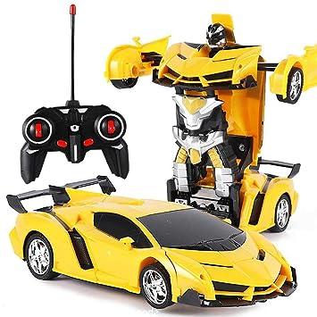 De RemotoCoche Teepao Rc Control Robot Transformación J5uF3KTl1c