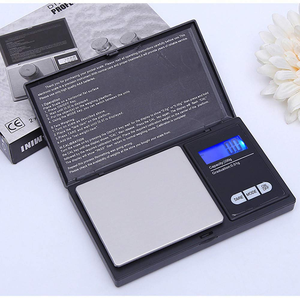 Ugood 2019 300g/0.01g High Precision Digital Electronic Scale for Jewelry Reloading Kitchen by Ugood_ (Image #1)